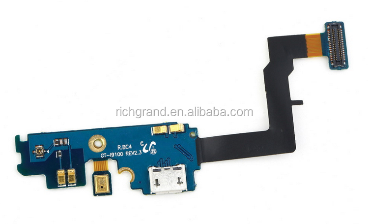 USB Connector Charger Port Dock Charging Flex Cable For Samsung Galaxy S2 i9100 Hot Selling