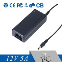 12V 5A AC/DC Adaptor Power Supply FOR LCD monitor CCTV Camera LED strips Light