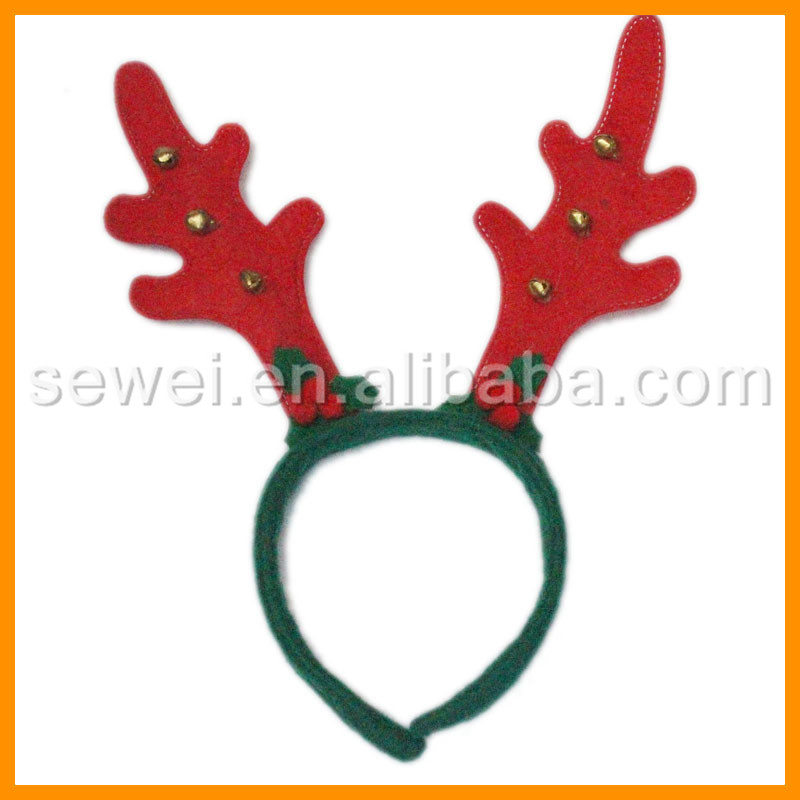 New Arrival snowman deer antlers head buckle Christmas