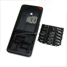 cell phone housing for nokia 301 full housing with keypad lens face cover battery door