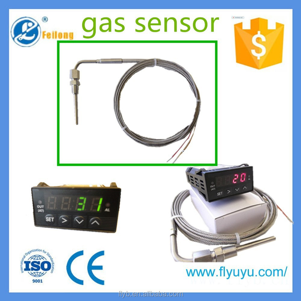 EGT exposed tip exhaust gas digital temperature controller with sensor guage