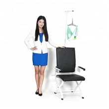 Adjustment medical neck cervical support traction chair device