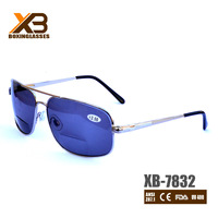 High quality stainless bifocal sunglasses