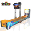 Qingfeng hot sale luxury electric bowling coach amusement game machine lottery bowling arcade game machine