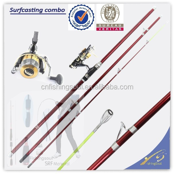 SFR057 carbon fishing rod blanks wholesale fishing rod price surf casting fishing rod combo