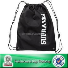 Custom Cheap Polyester Waterproof Recycle Promotional Drawstring Bags Sling, Laundry Bag, Backpack Bag