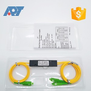 1*2 Optical FBT SM Coupler with LC/UPC,SMF-250um with 2mm cable