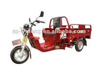 red three wheel battery tricycle for cargo