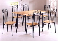 Indiana 1+6 Dining Set