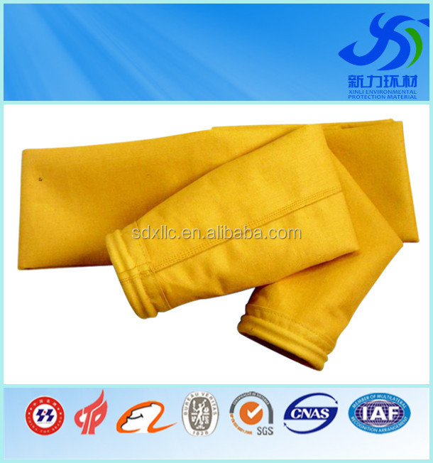 Needle type P84 fiber filter bag cost