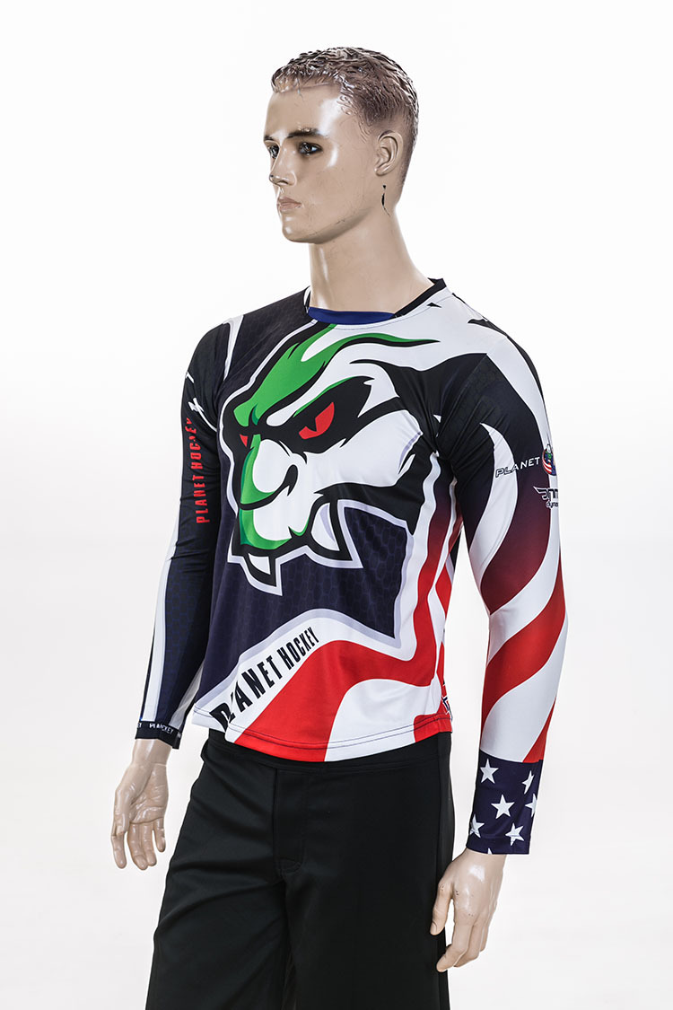 Fashion Sublimation Cheap Blank Youth Ice Hockey Jerseys