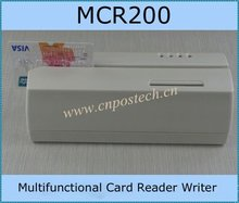 Software/hardware EMV MCR200 USB magnetic strip card android reader/writer with compact size