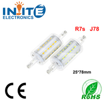 High Lumen 78mm 118mm dimmable corn led light bulbs with ce rohs 5w 10w R7s Led