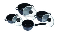 aluminum induction cookware with ceramic coating