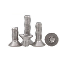 Stainless Steel DIN 7991 Hexagon Socket Countersunk Head Cap Screws