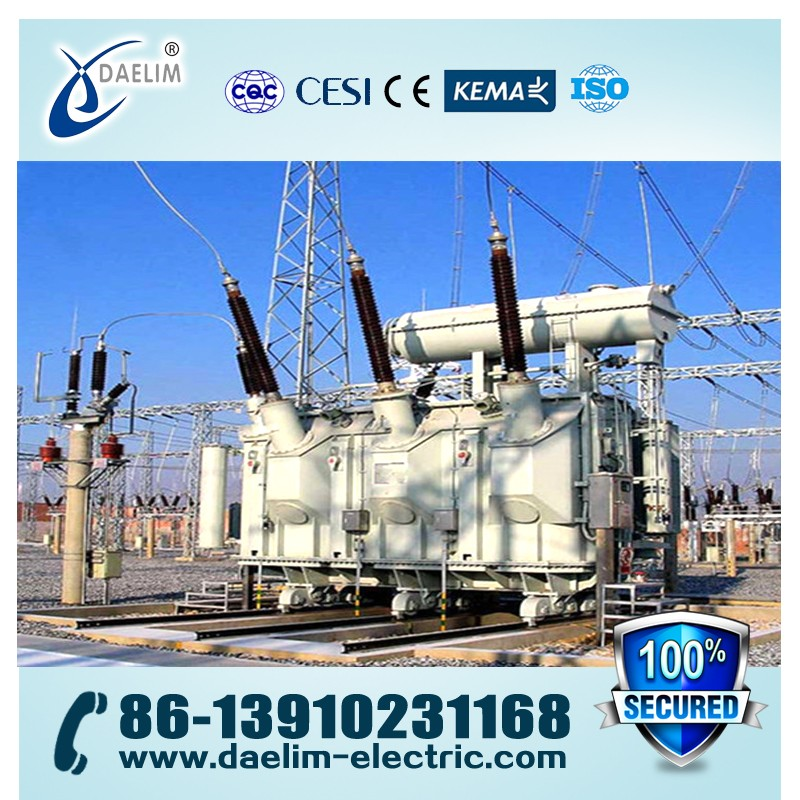 High Voltage 110kv 50mva Oil Immersed Power Transformers
