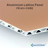 3mm and 4mm Aluminium corrugated core sandwich panels