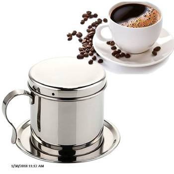 Stainless steel Cup Filter Drip Coffee Maker