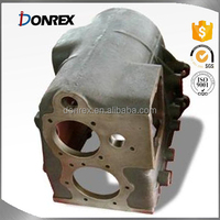 Custom grey iron casting Gear Box with CNC machining made in China
