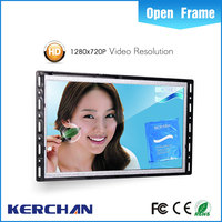 Frameless 10 inch LCD mp4 digital player driver for Displays