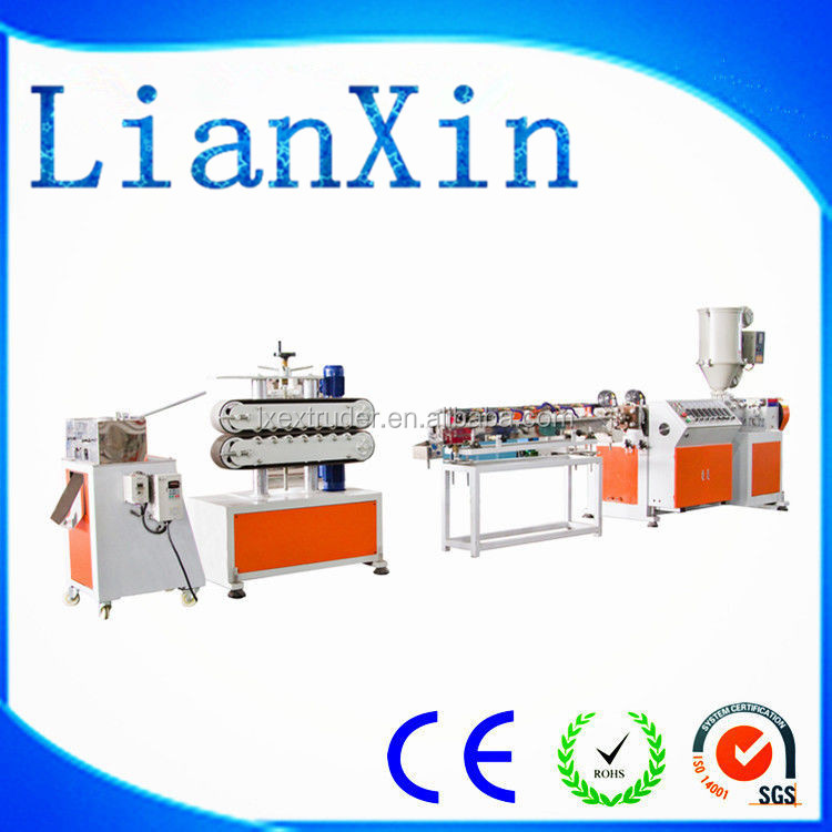 small plastic band extrusion making machine