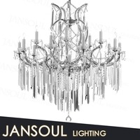 tranditional oriental style antique transparent glass chandelier with turkish glass hanging candle