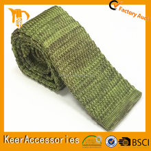Colorful Double Side Knitted Necktie to match men's formal shirt