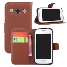 alibaba china stand wallet leather case for samsung galaxy ace style lte g357