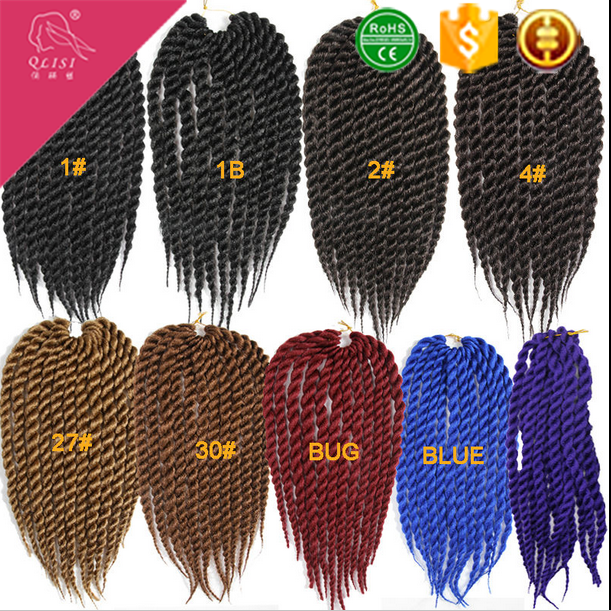 African Hot Item Multi-Color Synthetic Hair Jumbo Braid