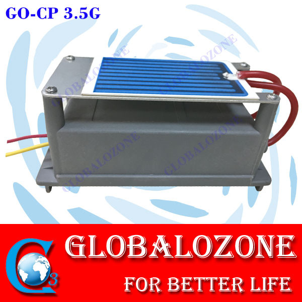 Long life air cooling 3.5g 5g ozone ceramic plate with transformer