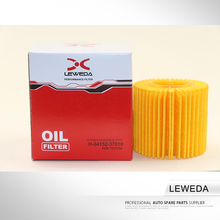 High filtration low price oil filter OEM 04152-37010 auto oil filter for car