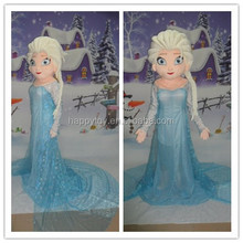 HI CE princess costume mascotte,cartoon character frozen mascot costumes