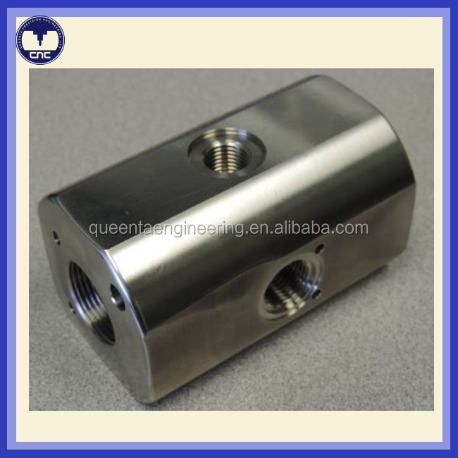 CNC processing stainless steel precision cnc machining flange