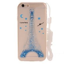 For iphone 6s/samsung 3d liquid phone cover