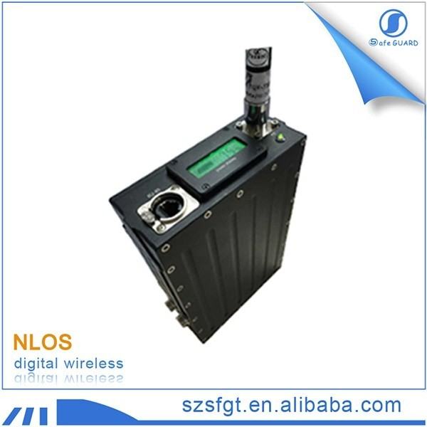 50km LOS tdd-cofdm video wireless radio transmitter-receiver with ethernet data port