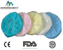 disposable surgical operating room scrub caps for use/hospital high quality disposable non woven medical surgeon hat nurse cap