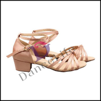 S5526 girls latin dance shoes wholesale latin shoes for kids latin dance shoes