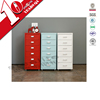 office and home furniture keyless locks lockers / moveable 6 door steel locker cabinet