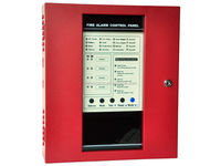 4 Zone Conventional Fire Alarm Control Panel 100 points, each zone 25 points.