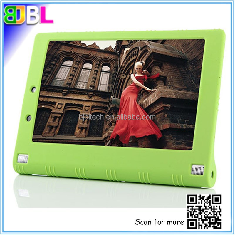 Silicone protective case drop resistance kids proof rugged silicone tablet case for Lenovo Yoga2 10'' & 8''