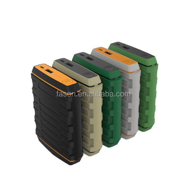 Newest! Military style quick charging 10400mah Power Bank for Iphone 5 4s 4; Galaxy S4 S3 Mini, Android Smartphones