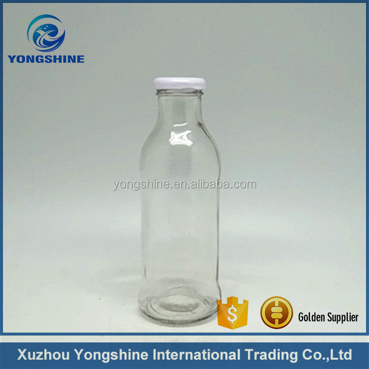 400ml soft drink glass bottle with twist off cap