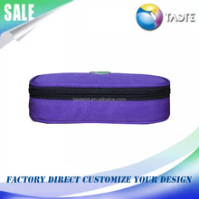 Travelling portable insulated ice pack insulin cooler bag for medicine medication