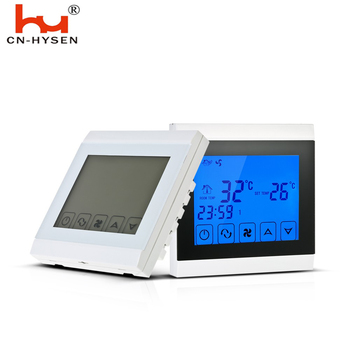 Air heater thermostat controller,auto thermostat air conditioner thermostat for 4 pipe