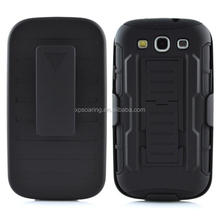 Kickstand shockproof case back cover for Samsung Galaxy S3 i9300