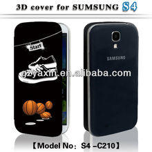 For samsung galaxy s4 19500 case,Hot sublimation 3D case for S4 i9500