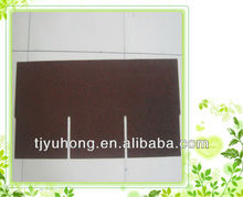 red color single layer bitumen roofing shingles