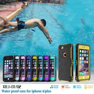 Waterproof Rugged Shockproof Protective Case for iPhone 6 plus 6s plus