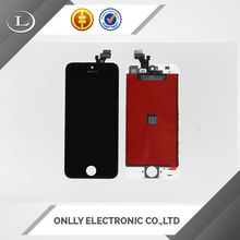 mobile phone spare parts alcatel for iphone 5,lcd assembly for iphone 5