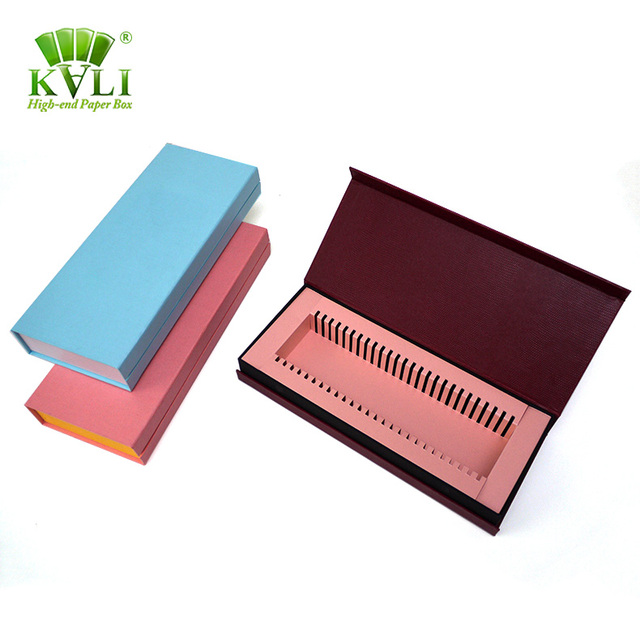 Rectangle Pillowed Shape Label Natural & Imitation Bundle Hair Extension Gift Packaging Box Supplies with customized logo